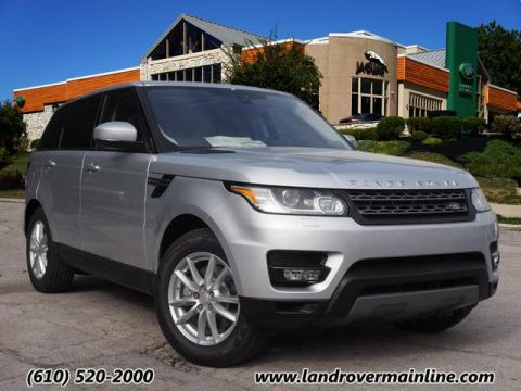 New 2017 Land Rover Range Rover Sport SE With Navigation & AWD