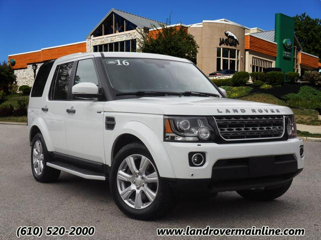 Certified Pre-Owned 2016 Land Rover LR4 HSE AWD