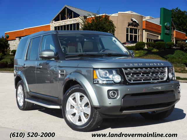 Certified Pre-Owned 2015 Land Rover LR4 HSE 4WD