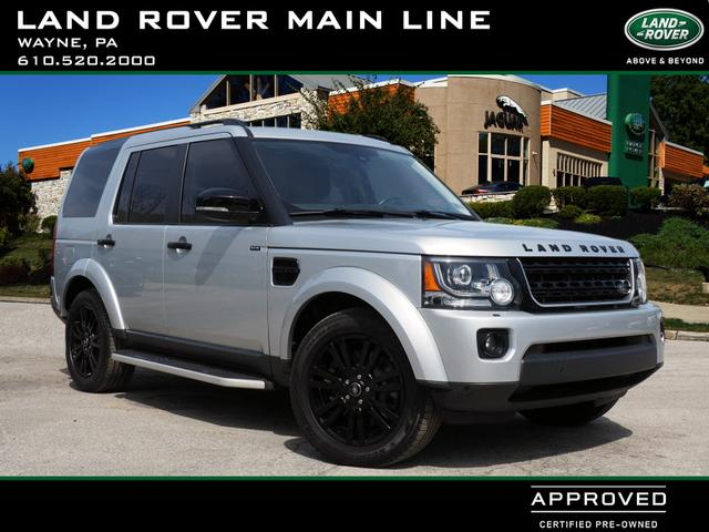 Certified Pre-Owned 2015 Land Rover LR4 4X4