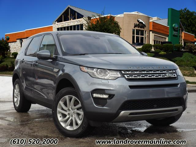 New 2018 Land Rover Discovery Sport HSE AWD HSE 4dr SUV (237HP) in