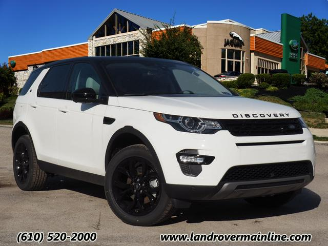 new 2018 land rover discovery sport hse awd hse 4dr suv. Black Bedroom Furniture Sets. Home Design Ideas