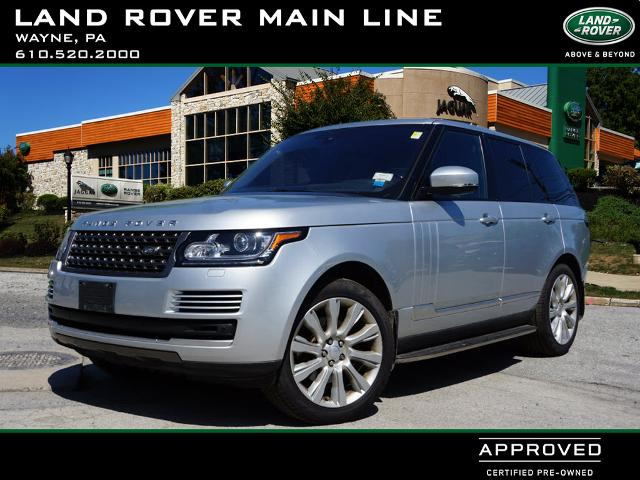 Certified Pre-Owned 2016 Land Rover Range Rover Td6