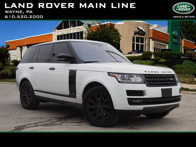 Certified Pre-Owned 2016 Land Rover Range Rover Base