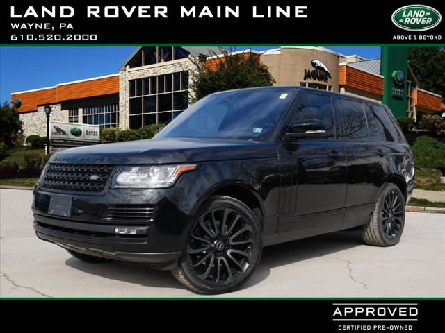 Certified Pre-Owned 2017 Land Rover Range Rover HSE Td6