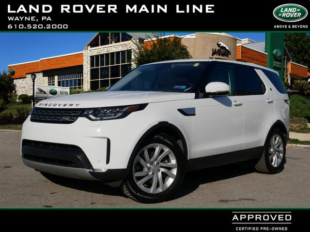 Certified Pre-Owned 2017 Land Rover Discovery HSE
