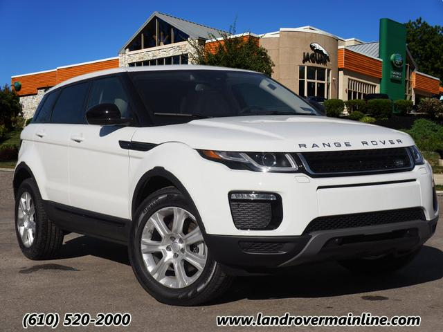 new 2018 land rover range rover evoque se premium awd se premium 4dr suv in wayne msr34 land. Black Bedroom Furniture Sets. Home Design Ideas