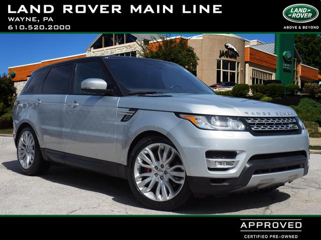 Certified Pre-Owned 2016 Land Rover Range Rover Sport Supercharged