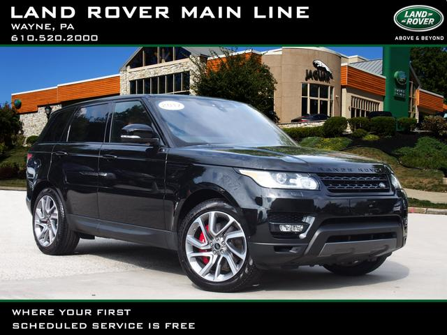 Pre Owned 2017 Land Rover Range Sport Supercharged Dynamic