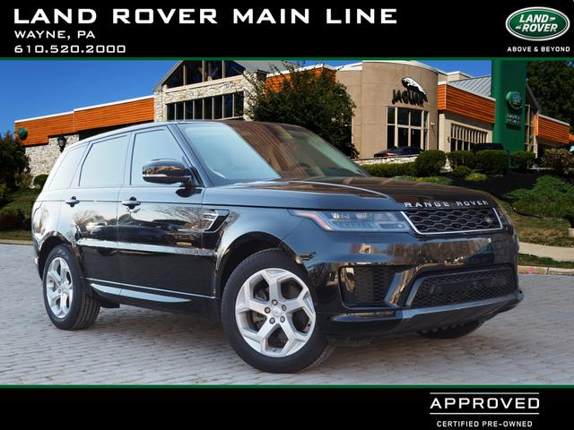 Certified Pre-Owned 2018 Land Rover Range Rover Sport HSE Td6