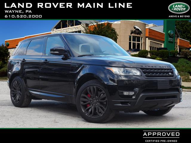Certified Pre-Owned 2016 Land Rover Range Rover Sport HST