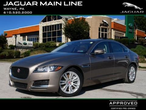 Certified Pre-Owned 2017 Jaguar XF 35t Premium