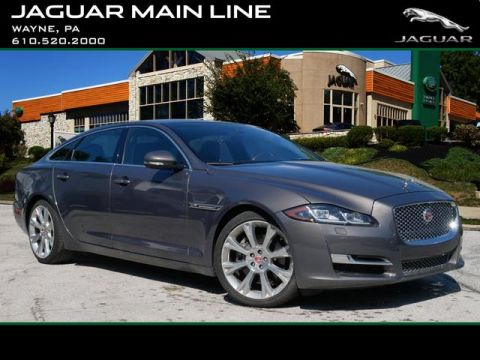 Certified Pre-Owned 2016 Jaguar XJL Portfolio