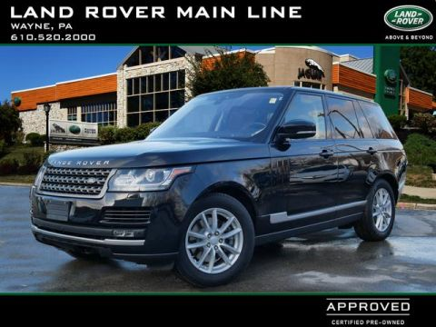 Certified Pre-Owned 2017 Land Rover Range Rover Base