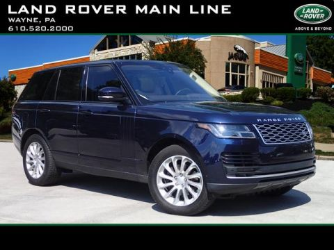 Certified Pre-Owned 2018 Land Rover Range Rover HSE Td6