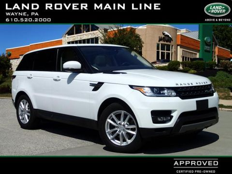 Certified Pre-Owned 2017 Land Rover Range Rover Sport SE Td6