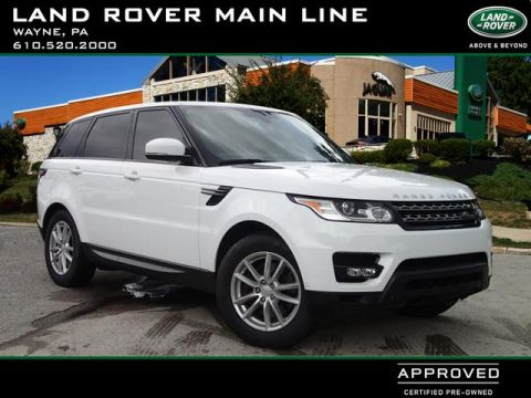 Certified Pre-Owned 2014 Land Rover Range Rover Sport SE