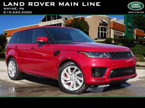 New 2019 Land Rover Range Rover Sport Supercharged Dynamic