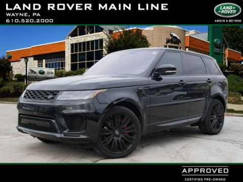 Pre-Owned 2018 Land Rover Range Rover Sport Supercharged Dynamic