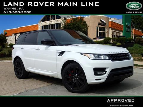 Certified Pre-Owned 2015 Land Rover Range Rover Sport Autobiography