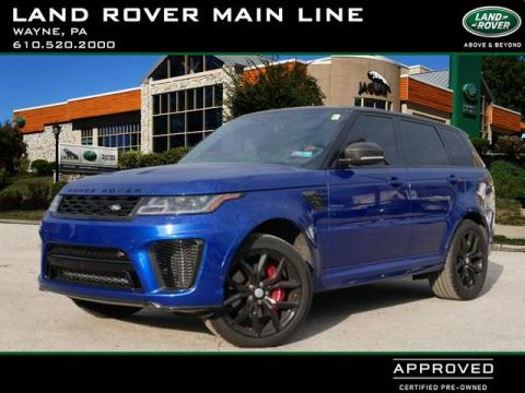 Certified Pre-Owned 2018 Land Rover Range Rover Sport SVR